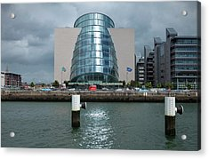 The National Irish Conference Centre Acrylic Print