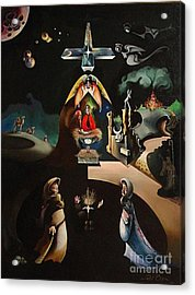 The Nativity Acrylic Print by Peter Olsen