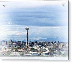 The Needle In Seattle Wa Acrylic Print