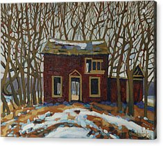The Neighbour's Acrylic Print by Phil Chadwick