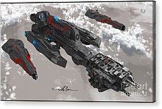 The New Imperial Fleet Acrylic Print