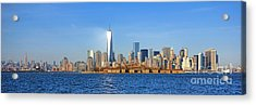 The New Manhattan Acrylic Print