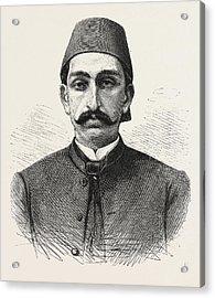 The New Sultan Of Turkey, Hamid II Acrylic Print