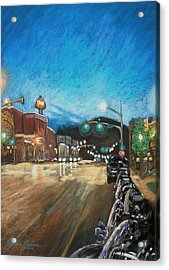 The New West Acrylic Print by Valerie Greene