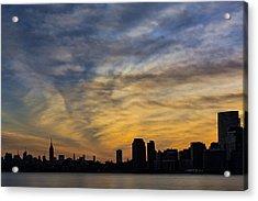 The New York City Skyline Awakens Acrylic Print