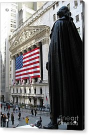 The New York Stock Exchange Acrylic Print by RicardMN Photography