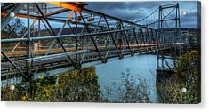 The Newell Bridge Acrylic Print
