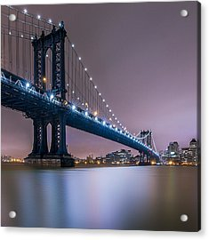 Acrylic Print featuring the photograph The Night B4 Christmas  by Anthony Fields