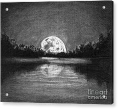 The Night Walked Down The Sky Acrylic Print