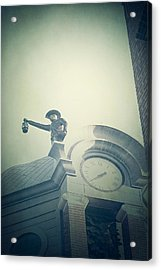 Acrylic Print featuring the photograph The Night Watchman by Trish Mistric