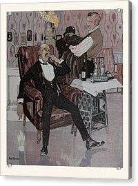 The Nightcap, German Acrylic Print