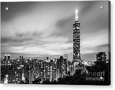 The Nights Of Taipei Acrylic Print