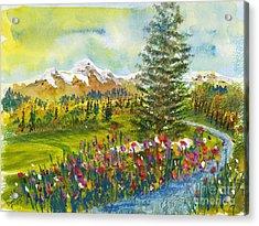 The Ninth Hole Acrylic Print
