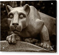 The Nittany Lion Shrine Acrylic Print by Mark Miller