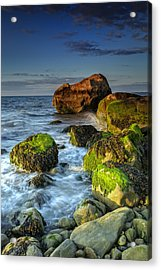 The North Fork's Rocky Shore Acrylic Print