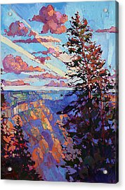 The North Rim Hexaptych - Panel 4 Acrylic Print