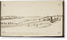 The Northamptonshire Landscape Acrylic Print by British Library