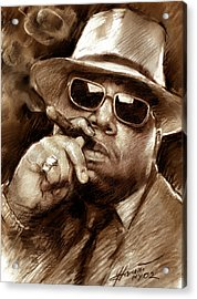 The Notorious B.i.g. Acrylic Print