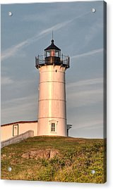 The Nubble Acrylic Print by At Lands End Photography