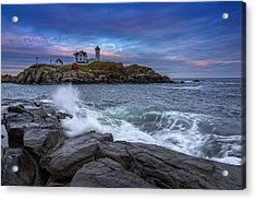 The Nubble In Color Acrylic Print by Rick Berk