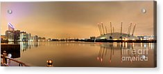 The O2 Arena Acrylic Print by Size X