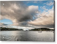 Acrylic Print featuring the photograph The Oban's Marina by Sergey Simanovsky