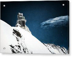 The Observatory Acrylic Print by Ryan Wyckoff