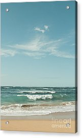 The Ocean Of Joy Acrylic Print by Sharon Mau