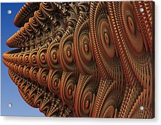 The Odd Beauty Of Fractals Acrylic Print by Lyle Hatch