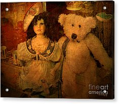 Acrylic Print featuring the photograph The Odd Couple ... by Chris Armytage