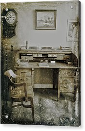 The Office  Acrylic Print by Jerry Cordeiro