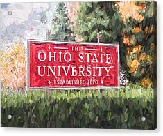 The Ohio State University Acrylic Print