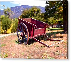 The Old Apple Cart Acrylic Print