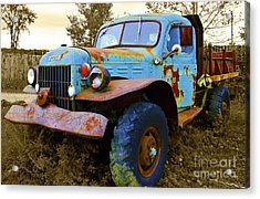 The Old Beater Acrylic Print by John Debar