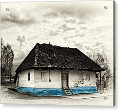The  Old Blue House -1342  Acrylic Print by Dorin Stef