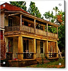 The Old Boarding House Acrylic Print by Marty Koch