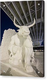 The Old Bull And Chain Acrylic Print by Tim Grams