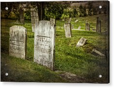The Old Burial Ground Acrylic Print by Joan Carroll