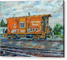 The Old Caboose Acrylic Print