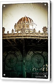 The Old Carousel House Acrylic Print by Colleen Kammerer