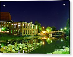 The Old Carriage House In Downtown Greenville Sc Acrylic Print