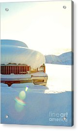 The Old Chevy Acrylic Print by Alanna DPhoto