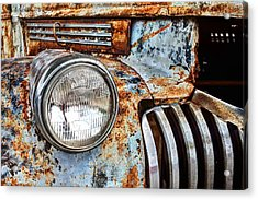 The Old Chevy  Acrylic Print by JC Findley