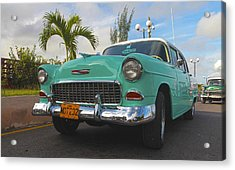 The Old Chevy Still Young Acrylic Print