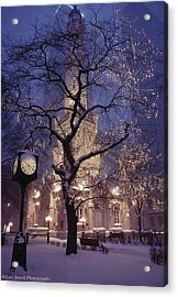 The Old Chicago Water Tower Acrylic Print