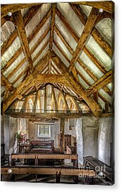 The Old Church Acrylic Print by Adrian Evans