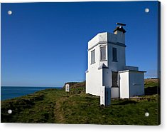The Old Coastguard Station, Dunmore Acrylic Print