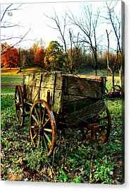 The Old Conestoga Acrylic Print