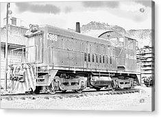 The Old Coors Switcher Acrylic Print by J Griff Griffin