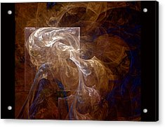 Acrylic Print featuring the digital art The Old Crone by Owlspook